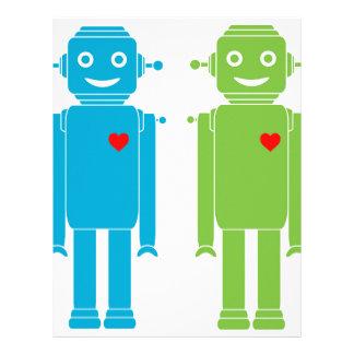 Gay Robots Letterhead
