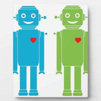 Gay Robots Plaque