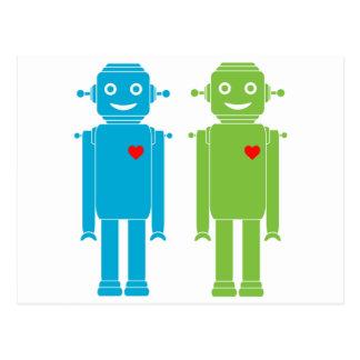 Gay Robots Postcard