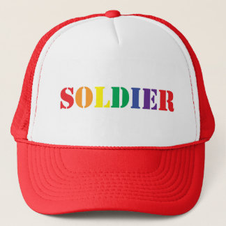 GAY Soldier HAT! Trucker Hat