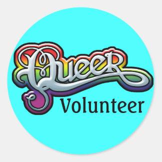 GAY STICKERS - Queer Volunteer