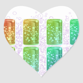Gay Thirst Heart Sticker