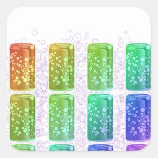 Gay Thirst Square Sticker