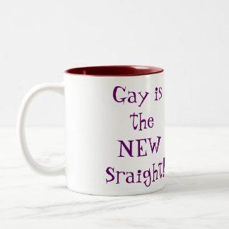 Gay Two-Tone Coffee Mug