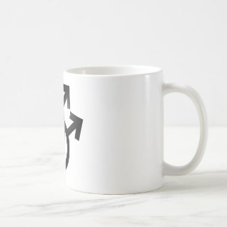 Gay Union Symbols, Mars, Male Couple, Marriage Coffee Mug