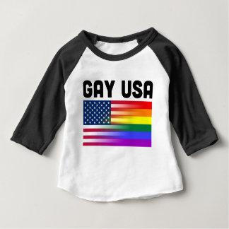 Gay USA Baby T-Shirt