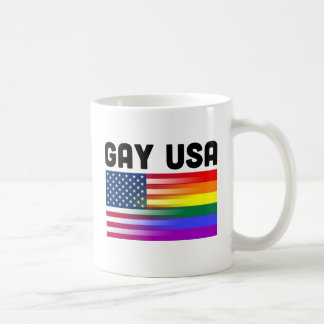 Gay USA Coffee Mug