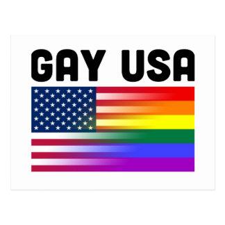 Gay USA Postcard