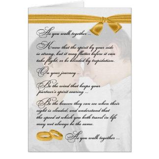 Gay Wedding Congratulations Two Grooms Card