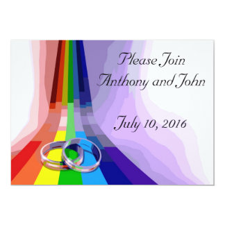 Gay Wedding Invitation
