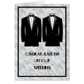 Gay Wedding Marriage Card