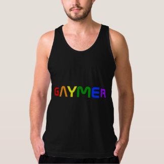 Gaymer Rainbow Pride Colors Tank Top
