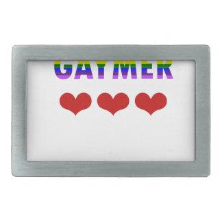 Gaymer (v1) belt buckles
