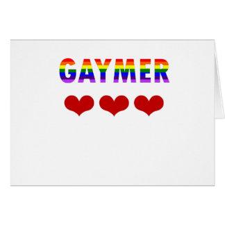 Gaymer (v1) card
