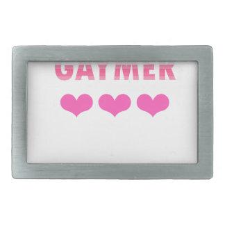 Gaymer (v2) belt buckle