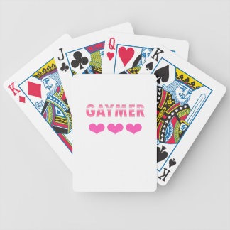 Gaymer (v2) bicycle playing cards