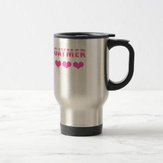 Gaymer (v2) travel mug