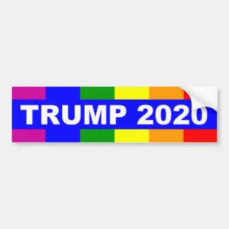 Gays For Donald Trump 2020 Bumper Sticker