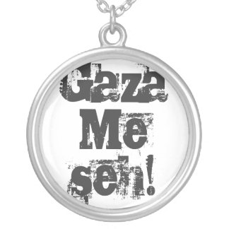 Gaza Me seh! Necklace