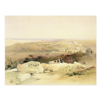 Gaza, plate from Volume II of 'The Holy Land' Postcard