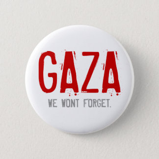 GAZA, WAR OF 2008-2009 2 INCH ROUND BUTTON