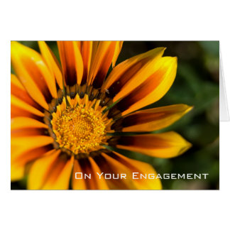 Gazania | Engagement Congratulation Card