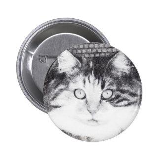 gaze 2 inch round button