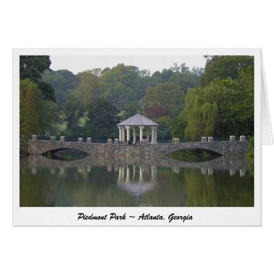 Gazebo at Piedmont Park - Atlanta, GA Card