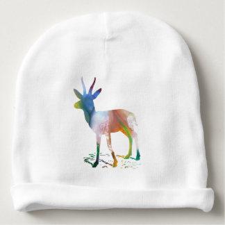 Gazelle art baby beanie