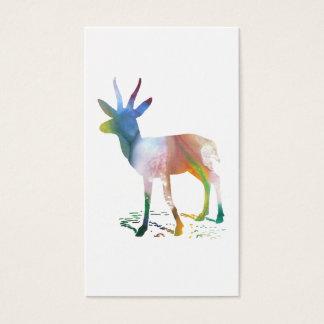 Gazelle art business card