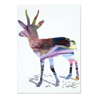 Gazelle art card