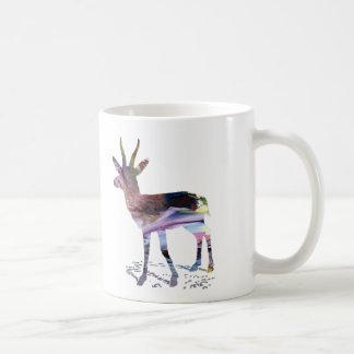 Gazelle art coffee mug