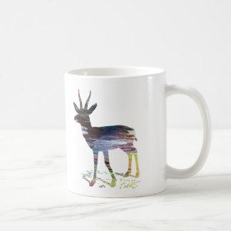 Gazelle art coffee mug