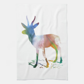 Gazelle art kitchen towel
