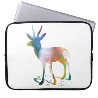 Gazelle art laptop sleeve
