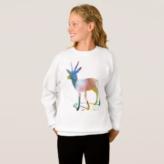 Gazelle art sweatshirt