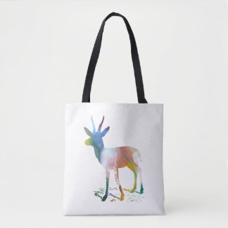 Gazelle art tote bag