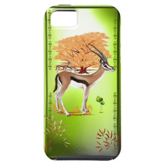 Gazelle n Tree iPhone 5 Case