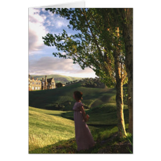 Gazing Upon Pemberley card