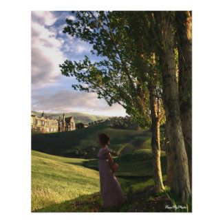 Gazing Upon Pemberley print
