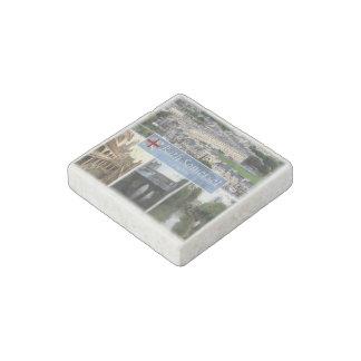 GB England - Bath Somerset - Bath Abbey - Stone Magnets