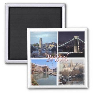 GB * England - Bristol Square Magnet