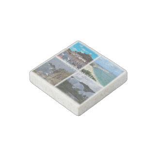 GB  England - Cornwall Stone Magnets