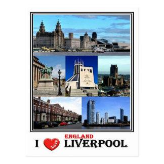 GB England - Liverpool - Postcard