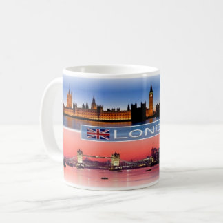 GB England -  London by Night - Coffee Mug