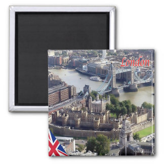 GB - England - London - Panorama Square Magnet