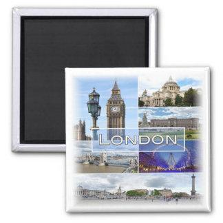 GB * England - London Square Magnet