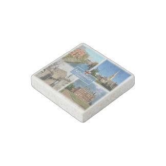 GB England - Norwich Norfolk - Cathedral - Felbrig Stone Magnets