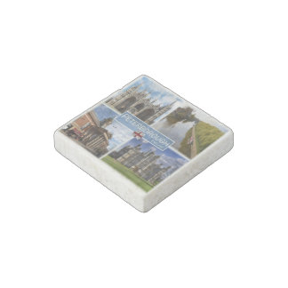 GB  England - Peterborough - Cathedral - Stone Magnets