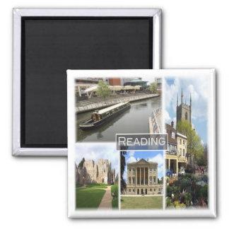 GB * England - Reading Magnet